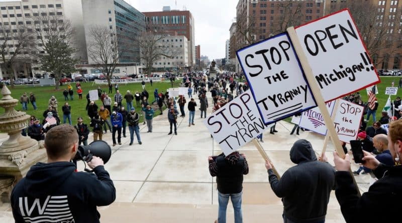 proteste carantina facebook