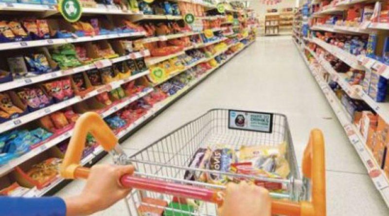 supermarket corona