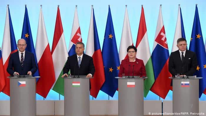Premierii Grupului de la Visegrad