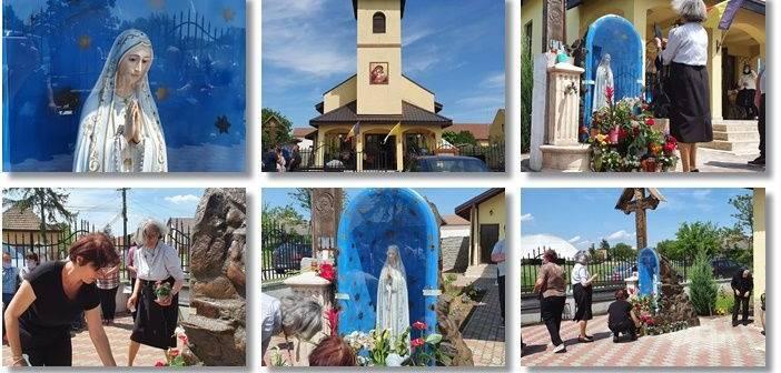 O statuie a Fecioarei Maria a început să plângă cu lacrimi