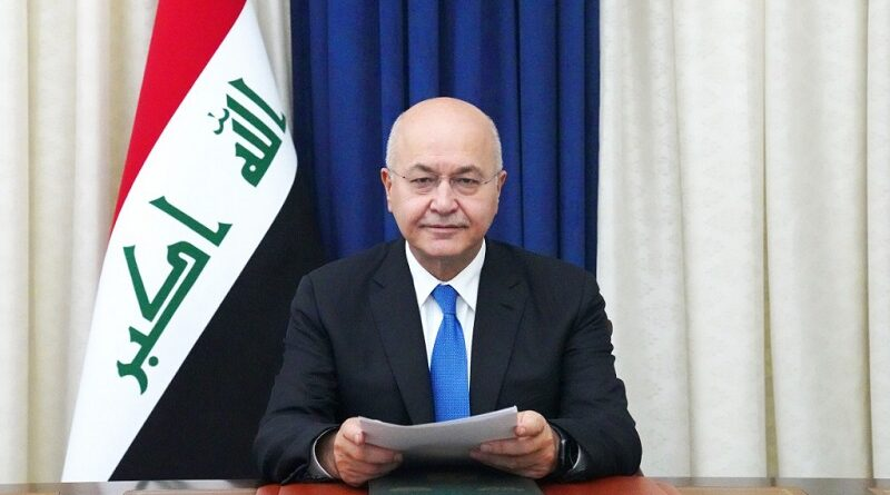 Preşedintele irakian