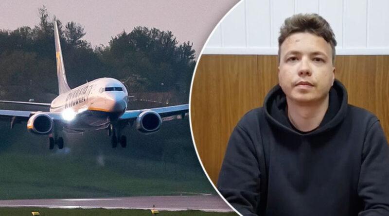 Prima filmare apărută cu jurnalistul Roman Protasevici de la incidentul deturnării avionului