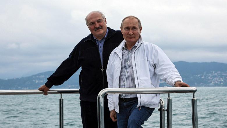 Putin & Lukaşenko = LOVE