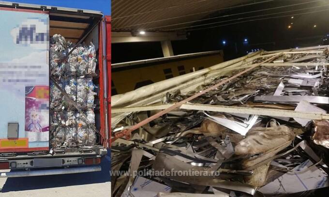 Romania INGHITE gunoiul europei. Dupa gunoiul din Germania urmeaza gunoiul Bulgariei oprit la vama