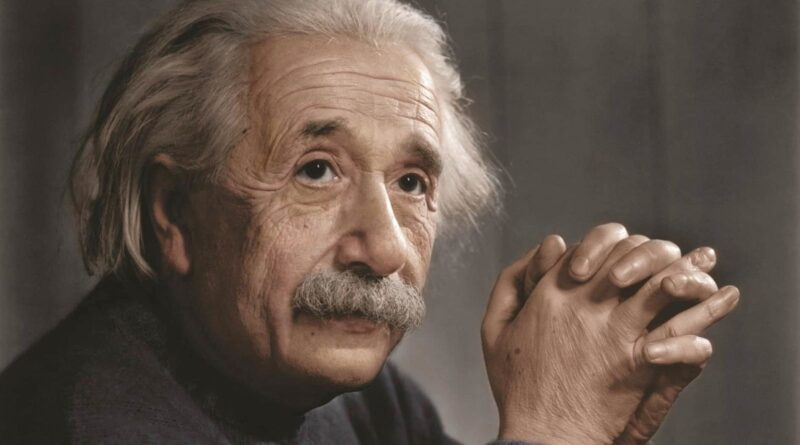 Scrisoarea pe care Einstein a scris teoria relativității