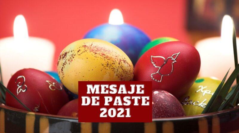 mesaje de paste 2021