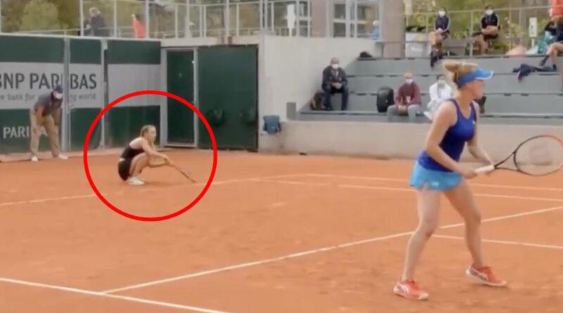 O jucătoare de tenis arestată la Roland Garros