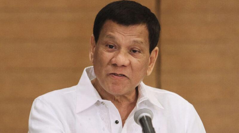 Președintele filipinez Rodrigo Duterte îi amenință cu închisoarea pe cei care refuză să se vaccineze