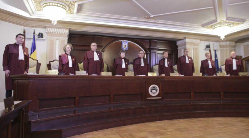Secția pentru Investigarea Infracțiunilor din Justiție este constituțională