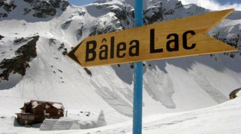 ninge ca-n povești la Bâlea Lac